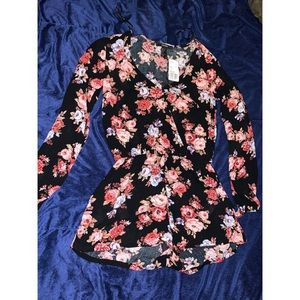 Brand new floral romper